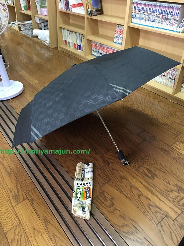 モリヤマ自前の日傘