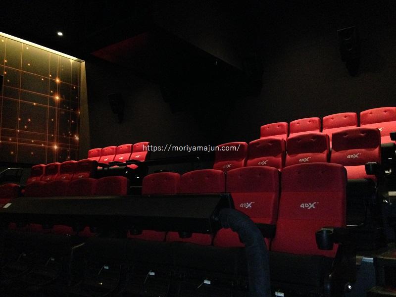 109シネマズエキスポシティ4DXシアター内座席