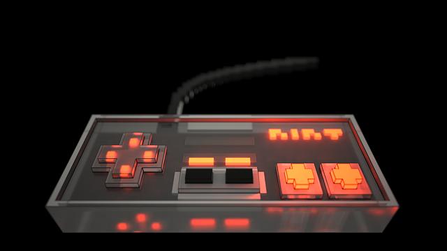 テレビゲームのコントローラー